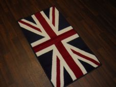 Rugs Aprox 4x2 60cmx110cm Union Jack Mat/Rugs Woven Backed Red/White/blue Mat